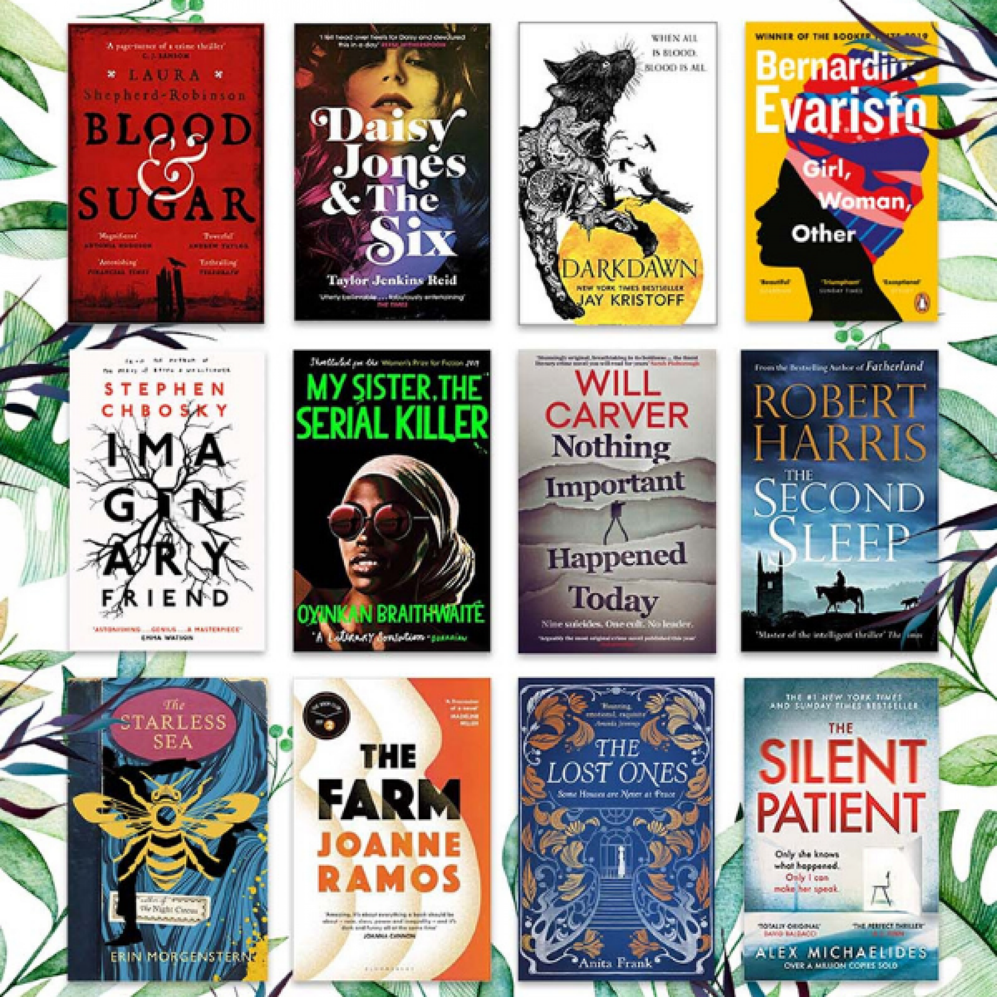 Goldsboro Books Glass Bell Longlist 2020