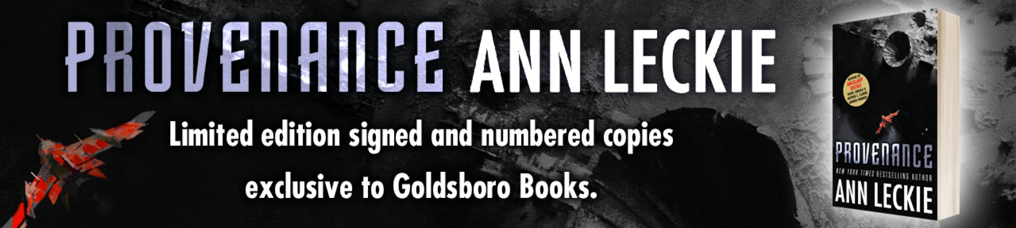 Introduction from Ann Leckie to her new novel Provenance