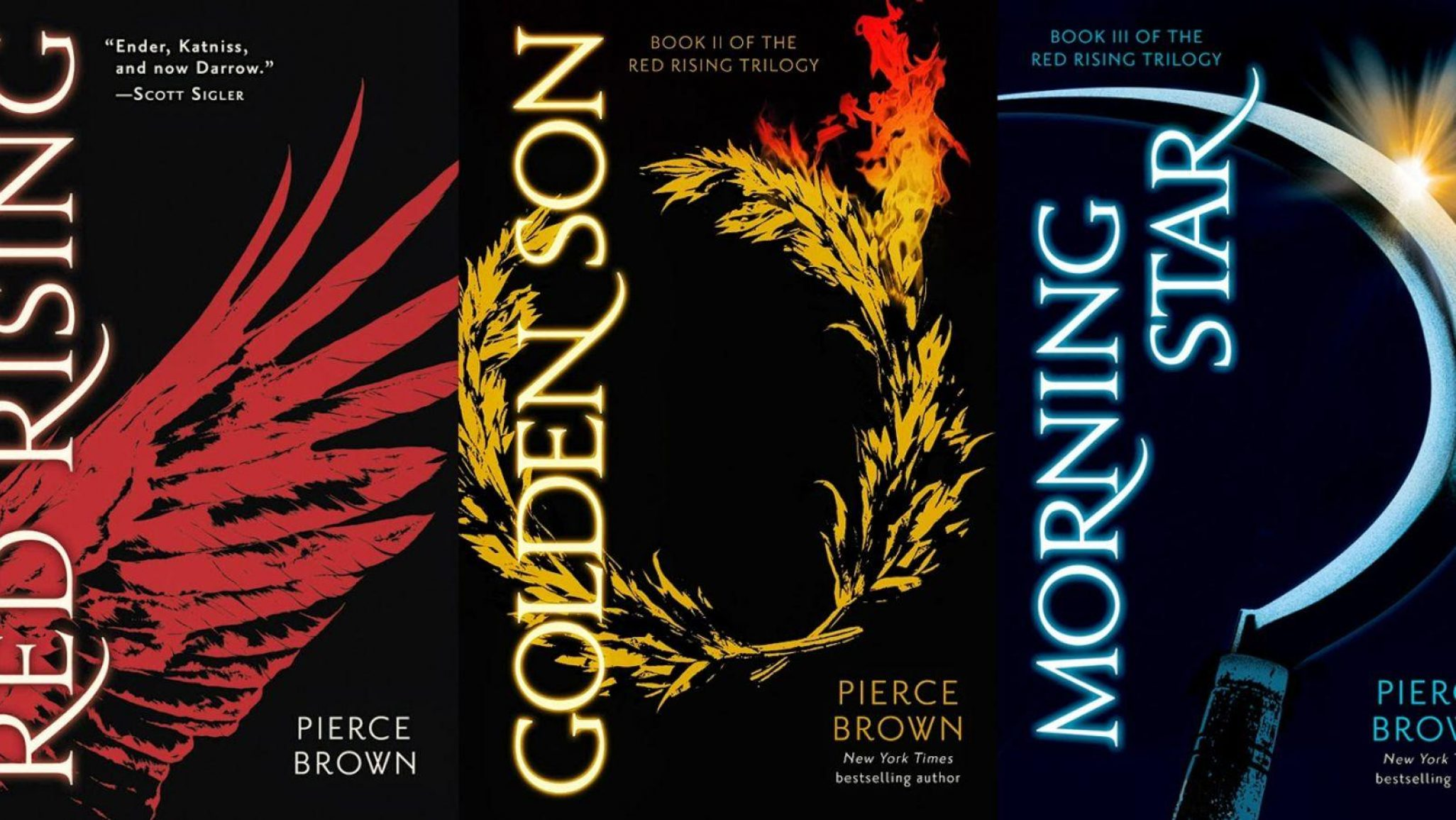 The Red Rising Trilogy - Pierce Brown