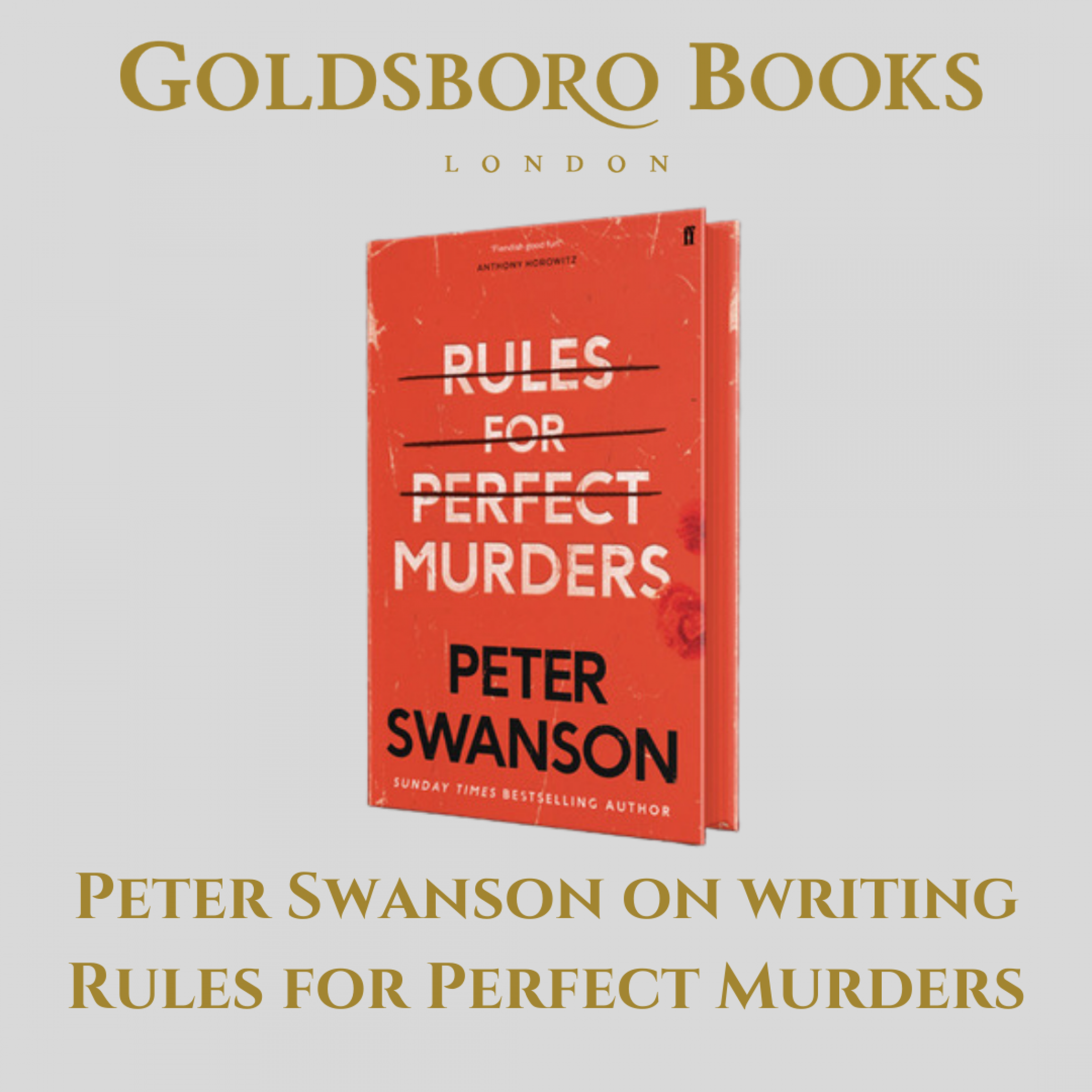 Rules for Perfect Murders: a Biography of a Reader