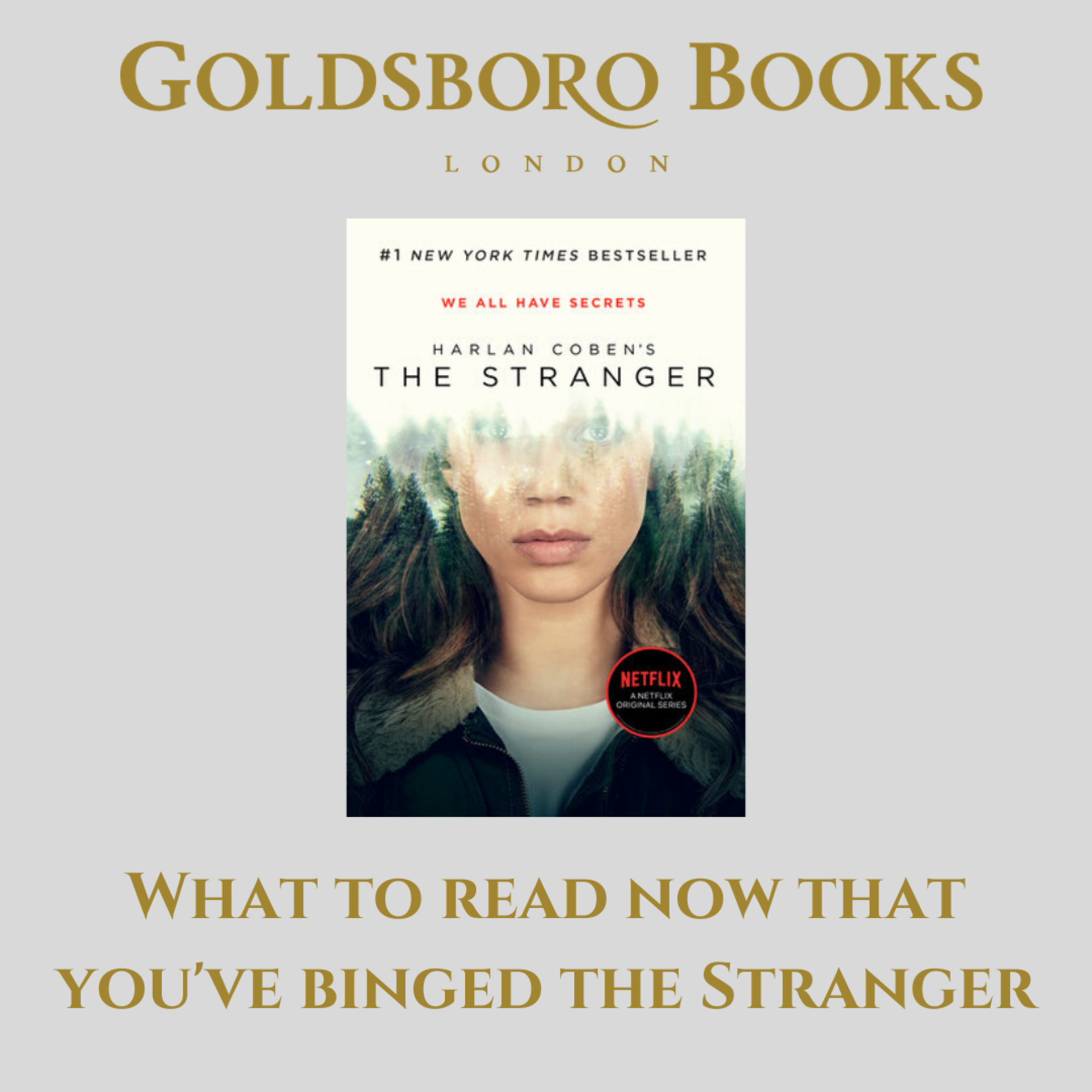 You've Binged The Stranger. Now What?