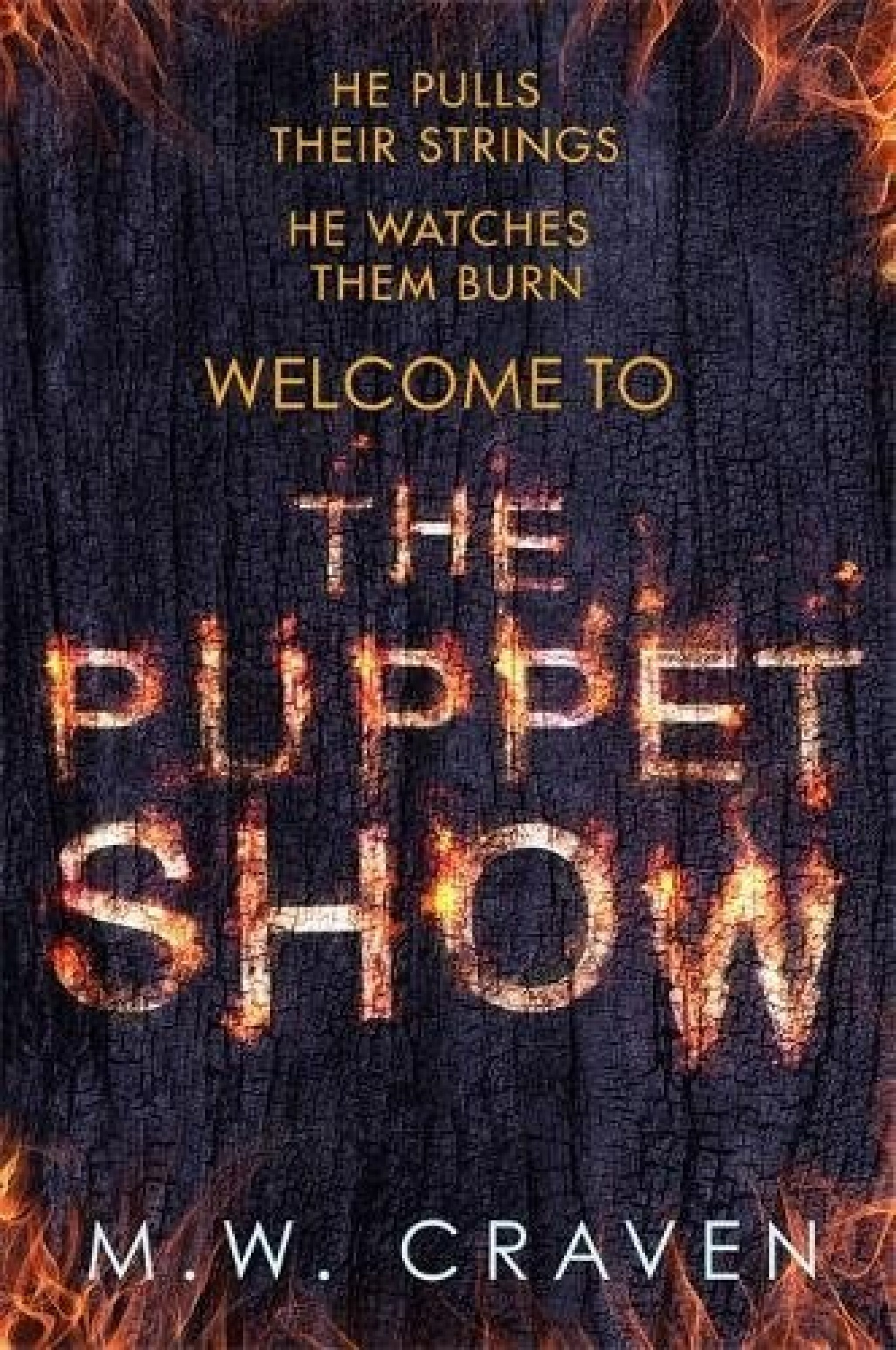 Introduction to our June Book of the Month, The Puppet Show by M.W. Craven