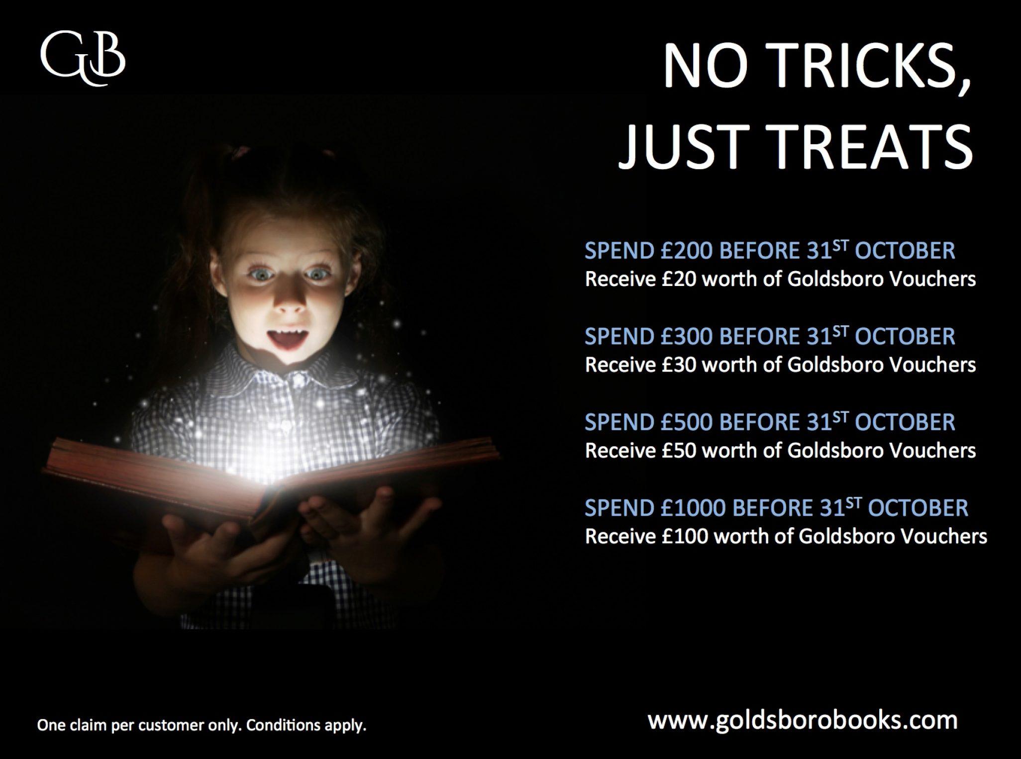 Treats, No Tricks - An October Offer