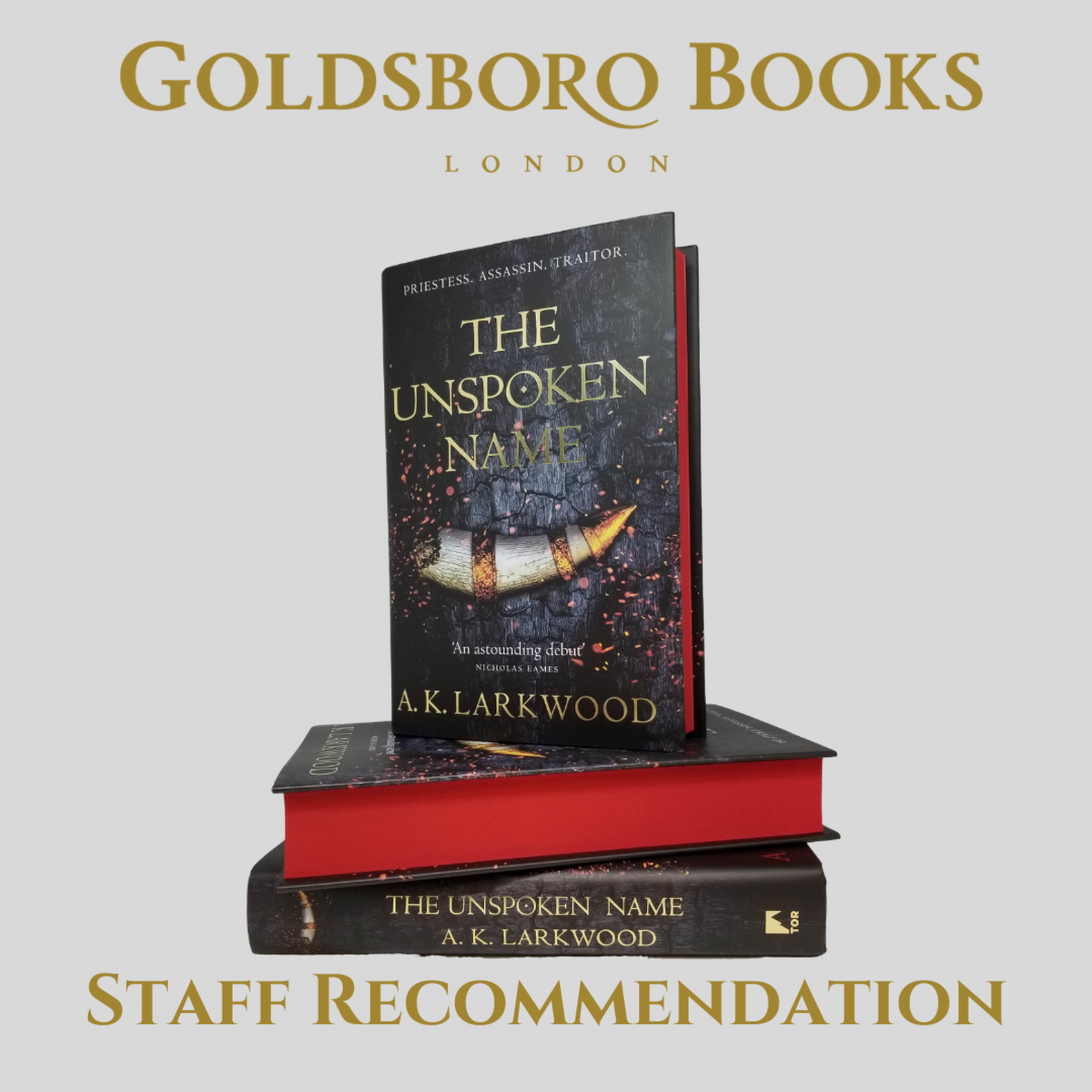 Staff Recommendation - The Unspoken Name