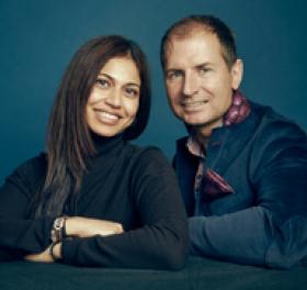 Declan Murphy and Ami Rao photo