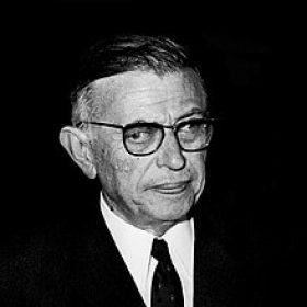 Jean-Paul Sartre photo